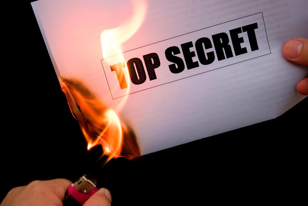 secrets are no fun